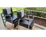 Lot: 2.BE - COSMETOLOGY CHAIRS, TABLE, WORK STATIONS