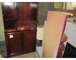 Lot: 53.SP - PODIUMS, ORGANIZERS, FILE CABINETS, TABLE, REFRIGERATOR