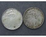 Lot: 207 - AMERICAN EAGLE COINS