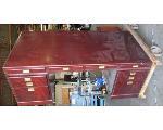Lot: 60-052 - Large Mid Century Wood Desk
