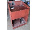 Lot: 60-056 - Wood Podium with Tech Wiring