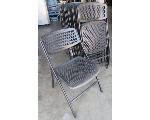 Lot: 60-059 - (8) Folding Chairs