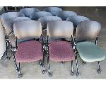 Lot: 60-068 - (11) Rolling Folding Chairs
