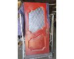 Lot: 60-080 - Solid Wood Double Doors