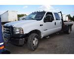 Lot: V-90 - 2001 Ford F-550 Truck - Key / Starts & Runs