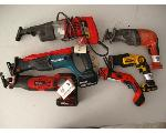 Lot: 38 - SAWS, DRILL, BATTERY CHARGER