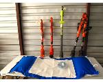 Lot: 48 - WEED CUTTER, EDGERS, POOL FLOAT