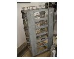 Lot: 21-2501 - Metal Basket Rack