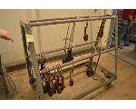 Lot: 30-2501 - Metal Hook Rack