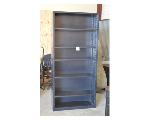 Lot: 35-2403 - Metal Adjustable Bookshelf