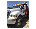 Lot: 01 - 2007 FORD F-750 DUMP TRUCK - KEY<BR><span style=color:red>Updated 10/15/19</span>