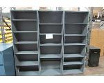 Lot: 15 - (3) Metal Shelves