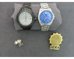 Lot: 219 - PIN, RING & WATCHES