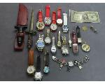 Lot: 222 - TOKEN, WATCHES, SILVER CERT. & STERLING THIMBLE