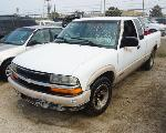 Lot: 08-58687 - 1998 Chevrolet S-10 Pickup - For Parts
