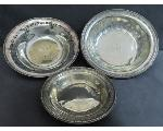 Lot: 7795 - BOWL  & STERLING BOWLS