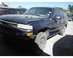 Lot: 01-677287C - 2002 CHEVROLET SUBURBAN SUV