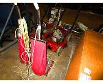 Lot: D/E1 - VACUUMS, PALLET JACK, MOWERS, BLOWERS, WEEDEATERS, GATES BELTS & MISC.