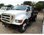 Lot: 18098 - 2004 FORD F750 TRUCK - KEY