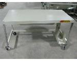Lot: 13 - (6) Rolling Tech Tables