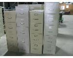 Lot: 43 - (4) File Cabinets