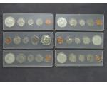 Lot: 1172 - (6) COIN SETS
