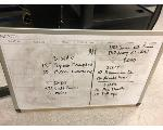 Lot: 07 - (2) Dry Erase Boards