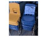 Lot: 3406 - (30) Student Chairs