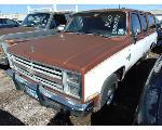 Lot: B9080531 - 1986 CHEVROLET SUBURBAN SUV