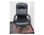 Lot: 28,29&30 - Foot Rest & (3) Desk Chairs