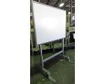 Lot: 61-055 - 64-inch Smart Board on Rolling Stand