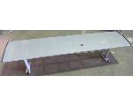 Lot: 61-061 - Metal Outdoor Bench