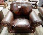 Lot: 02-23221 - Brown Chair