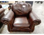 Lot: 02-23222 - Brown Chair
