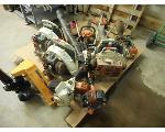 Lot: 3351 - LAWN EQUIPMENT: BLOWERS, CHAINSAW