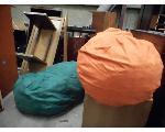 Lot: 3352 - (2) BEAN BAG CHAIRS