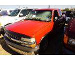 Lot: 16-164333 - 2001 Chevrolet Silverado 1500 Pickup - Key / Run & Drives