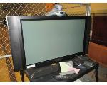 Lot: 34.SP - TV, DELL COMPUTER, KEYBOARDS, ROLLING CART