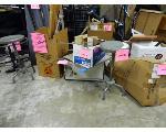 Lot: 64.UV - (5 BOXES) SCIENCE ITEMS: MICROWAVE, WINDOW SHADES, SHELF