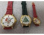 Lot: F966 - CHRISTMAS WATCHES