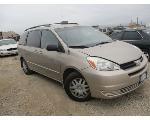 Lot: Q 16-353632 - 2005 TOYOTA SIENNA VAN - KEY / STARTS AND DRIVES
