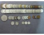 Lot: 7952 - IKE DOLLAR, QUARTERS, DIMES, NICKELS & FOREIGN