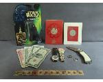 Lot: 7967 - MEDALS, WATCHES, FOREIGN CURRENCY & 14K RING