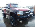 Lot: B9080682 - 2000 CHEVROLET SILVERADO 1500 PICKUP - KEY / RAN