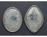 Lot: 1213 - STERLING TOWLE MEDALLIONS