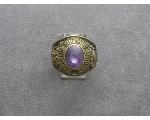 Lot: 1238 - 10K MILITARY ACADEMY RING