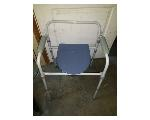 Lot: G011 - PORTABLE COMMODE