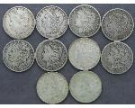 Lot: 8012 - MORGAN DOLLARS