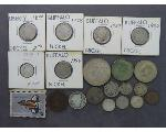 Lot: 8016 - PEACE DOLLAR, KENNEDY HALVES, QUARTER & DIMES