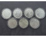Lot: 8038A - MORGAN & PEACE DOLLARS